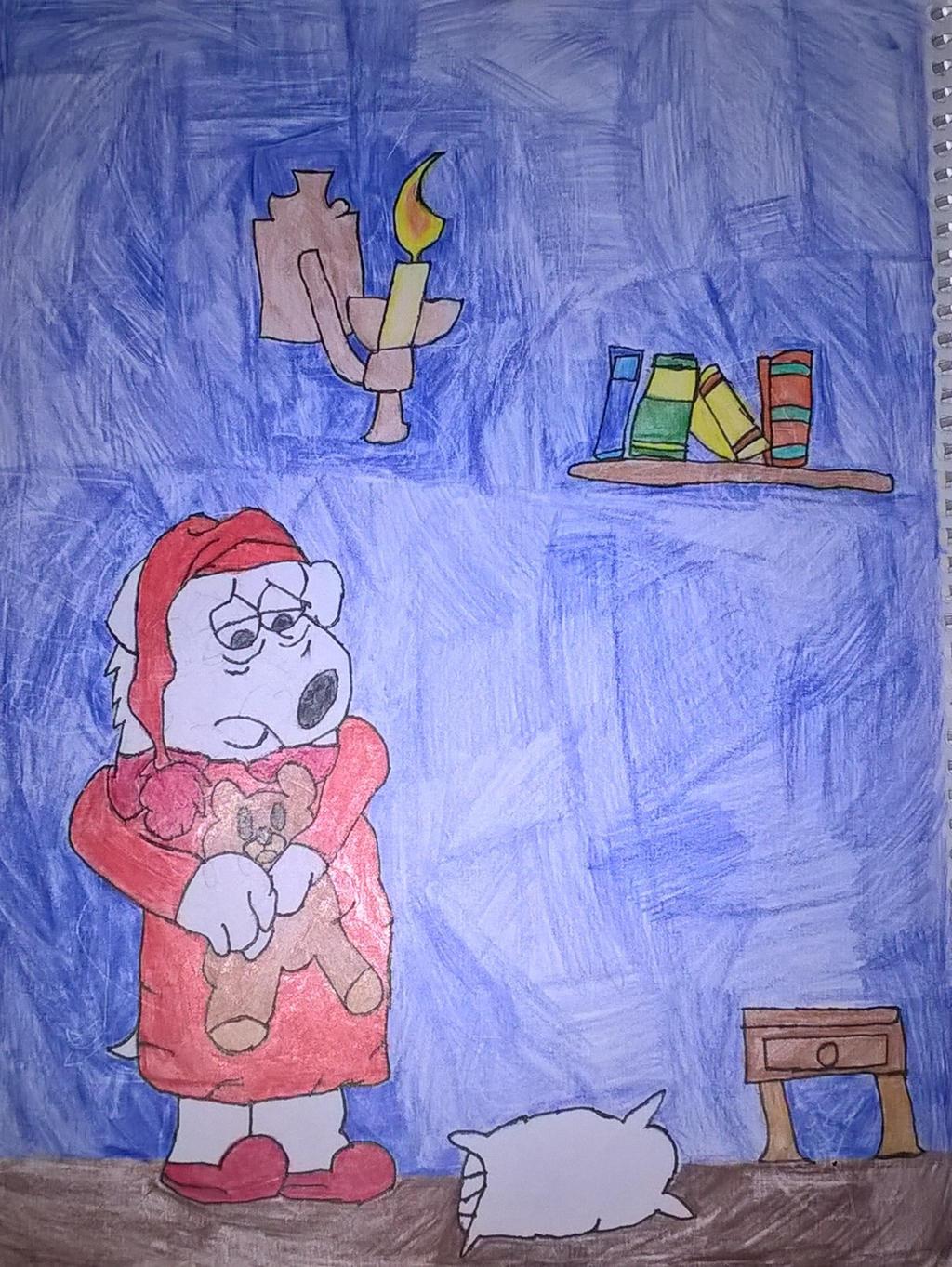 Sleepy Brian in pajamas *Updated request* by JinxBatstar