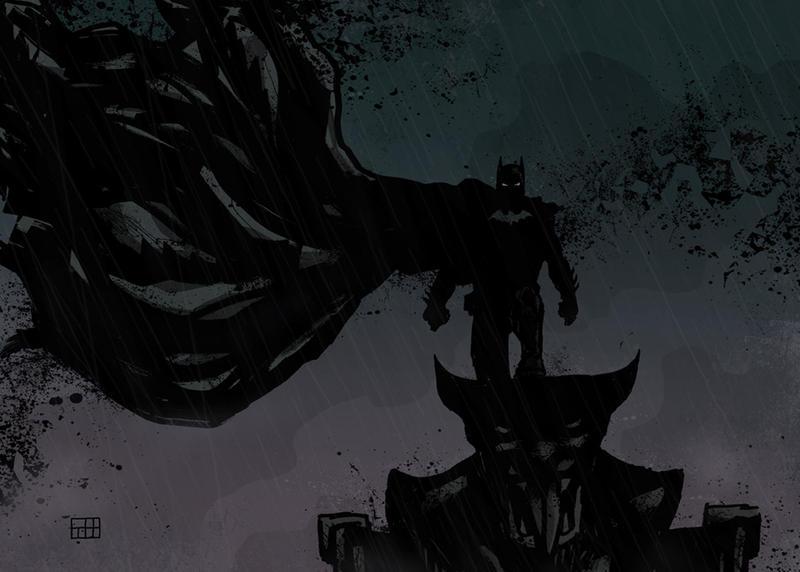 dark batman by xilrion