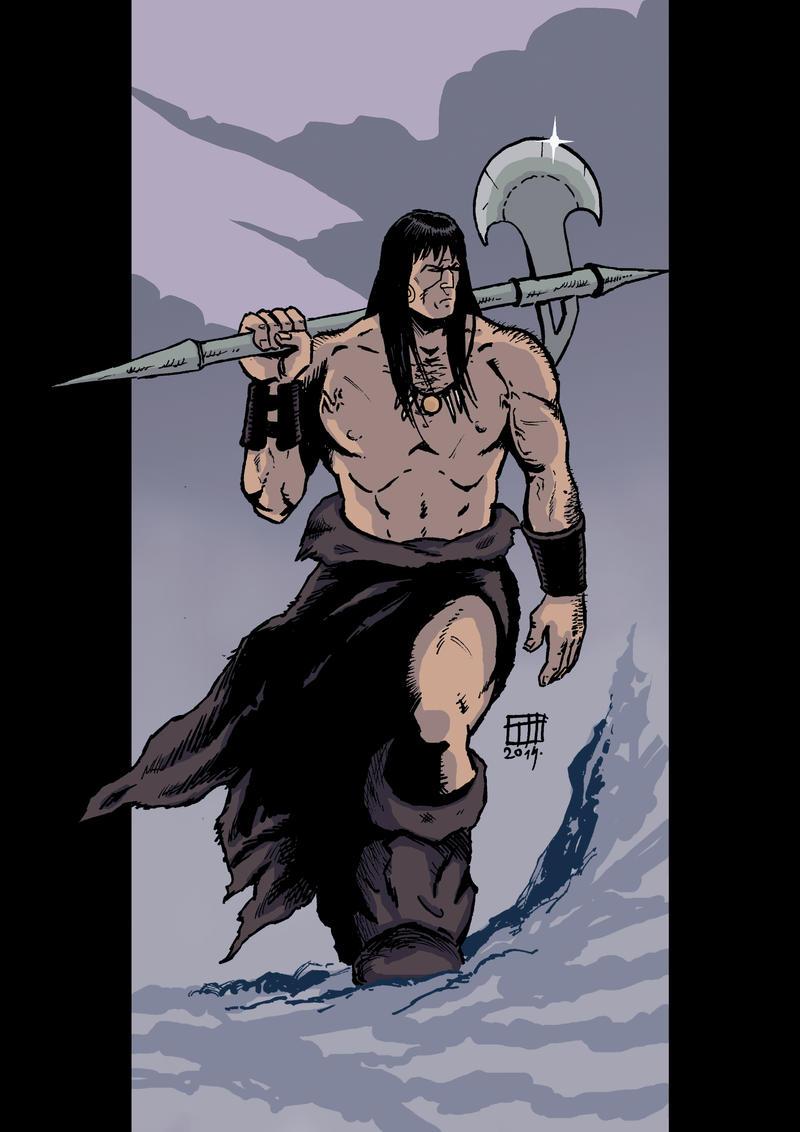 Conan by xilrion