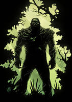 swamp thing by xilrion
