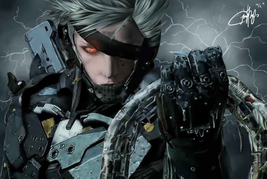 Raiden (Metal Gear Solid Rising) by josephinekazuki