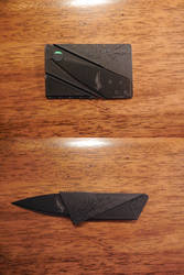 Credit Card Knife by 4face-plants-later