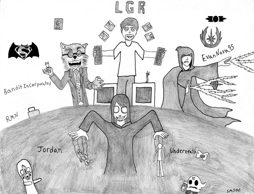 LGR, BI, JU, and EV95 by SMS00