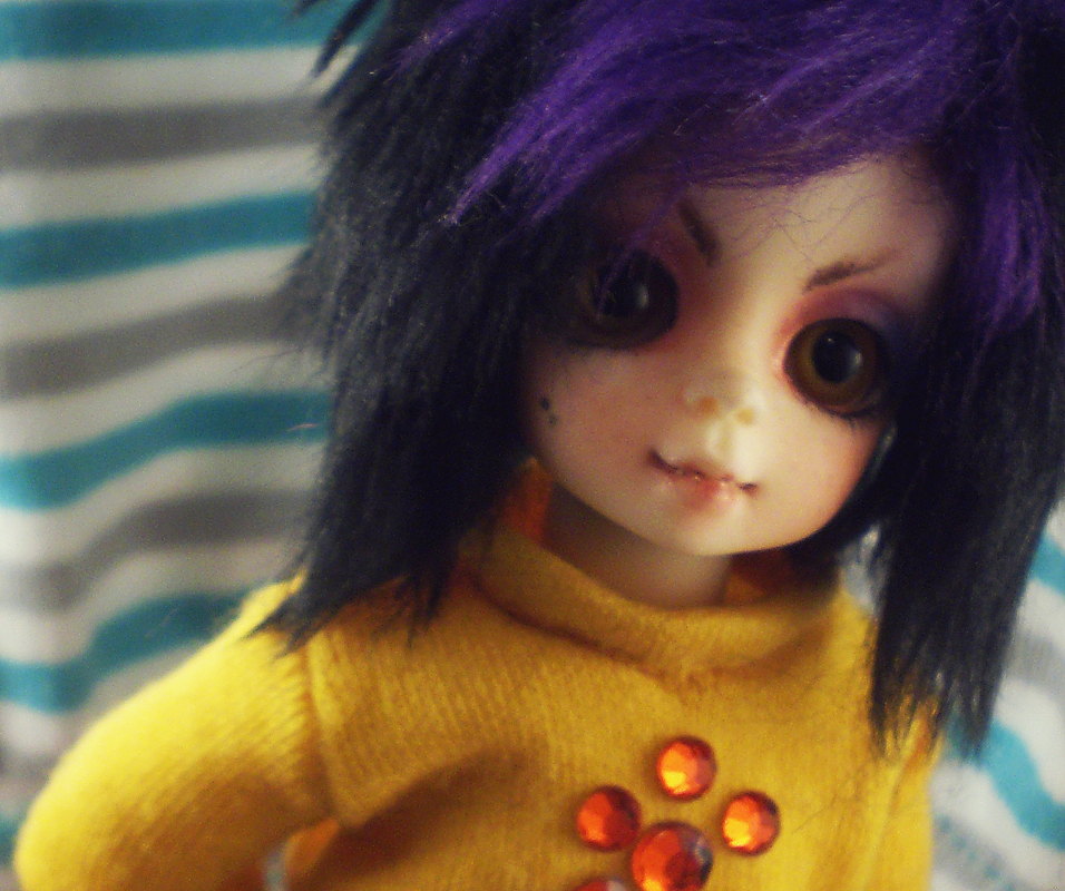 Little girl in a big world by princelingdoll