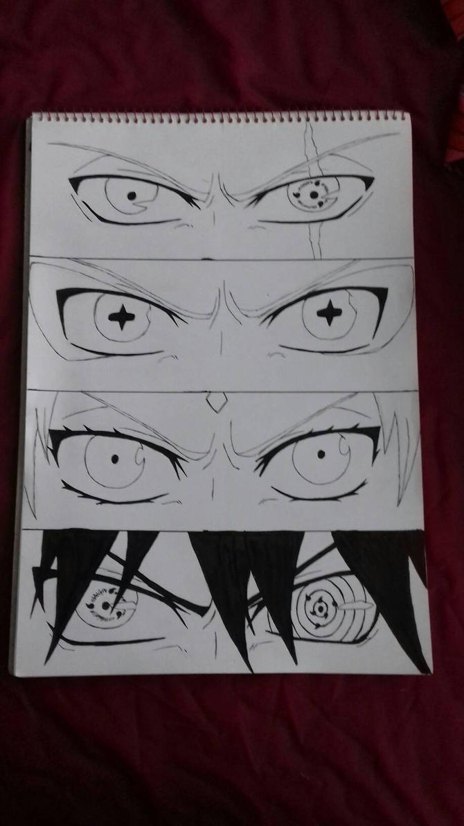 Team 7 eyes!  by KitKatHeart19