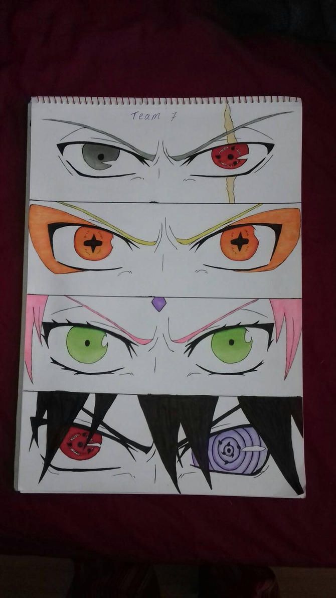 Team 7 eyes! 2  by KitKatHeart19