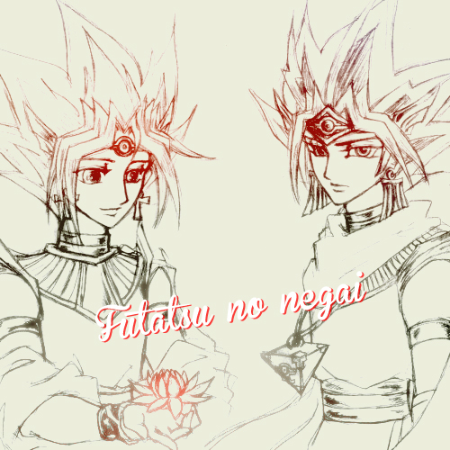 Yami x Yugi by YorusoraYukihime