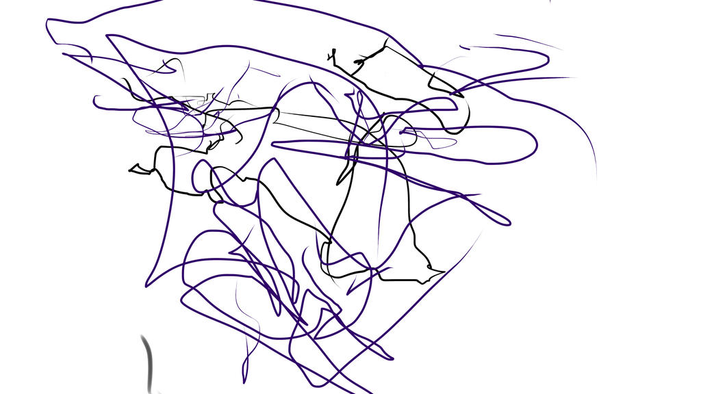 I drew this with my feet.jpg by Castellapocalypse