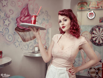 Cherry Cola by VicViciousPhoto