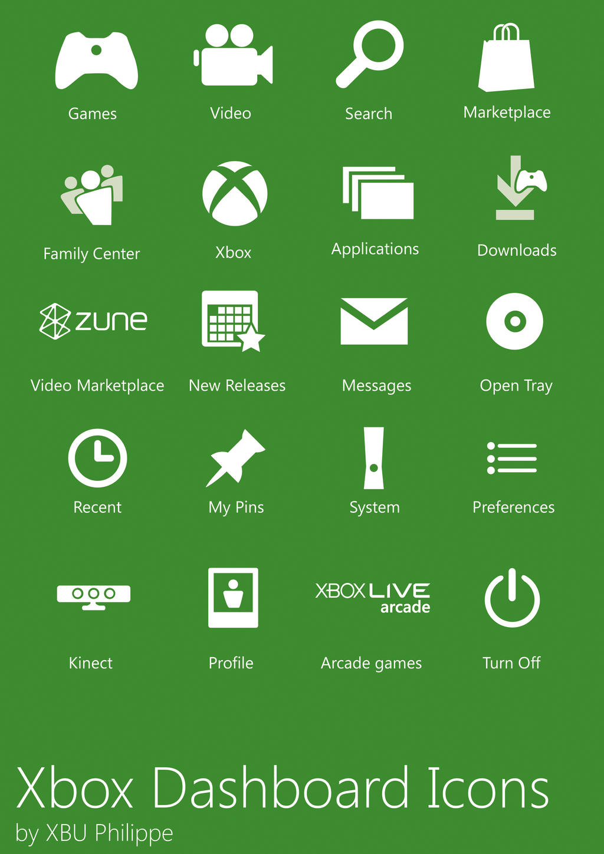 Black Xbox Icon Xbox Dashboard Icons by