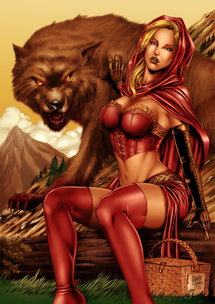 Sexy red riding hood porn