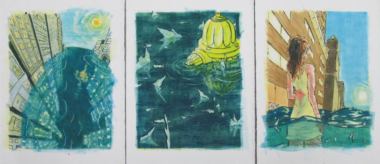 Anna's Dream: Triptych by Brokenopenseed