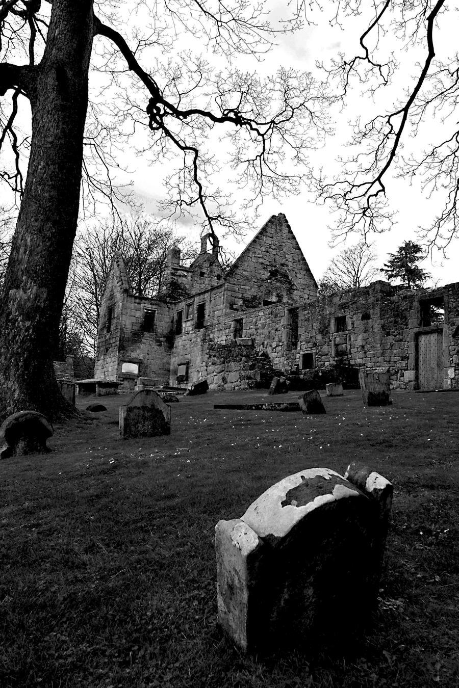 Churchyard by aj-waster