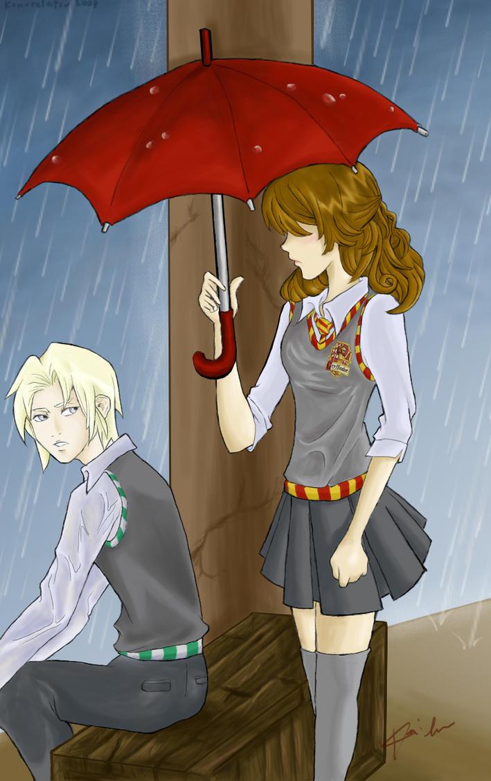 In the Rain by konoreiatsu
