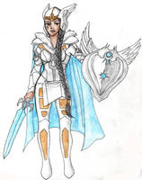 Valkyrie the Fighter by Acorna252525