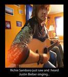 Richie just heard JB singing by Fili-Laufeyson