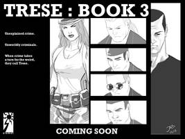 TRESE Book3 coming soon by Budjette