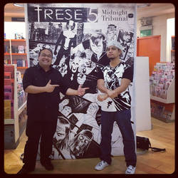 TRESE5 Nov24 Book Signing Event by Budjette
