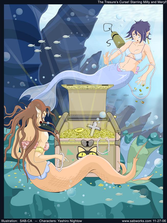 Milly and Meryl - Now Mermaids by SAB-CA