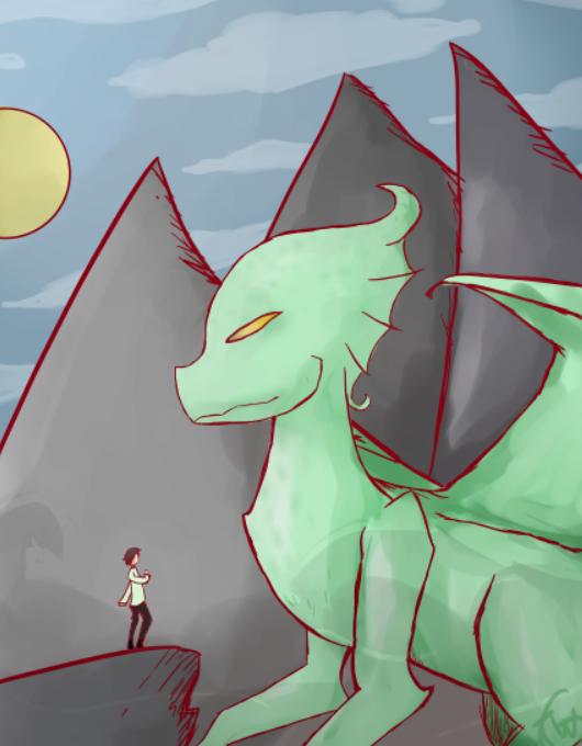 Dragon by Mangatilda