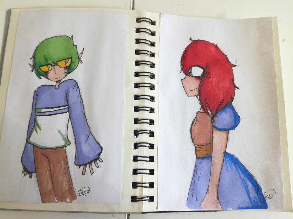sketchbook-drawings by Mangatilda