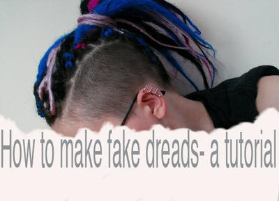 how to make natural hair diy cornrow low bun : fake dreads- a tutorial by zlyoga on deviantART