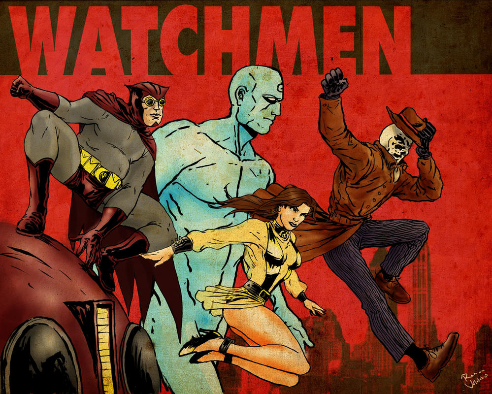 watching the watchmen Watching the watchmen has 930 ratings and 73 reviews luke said: an absolute must-have for all fans of moore and gibbons and their life-changing work on.