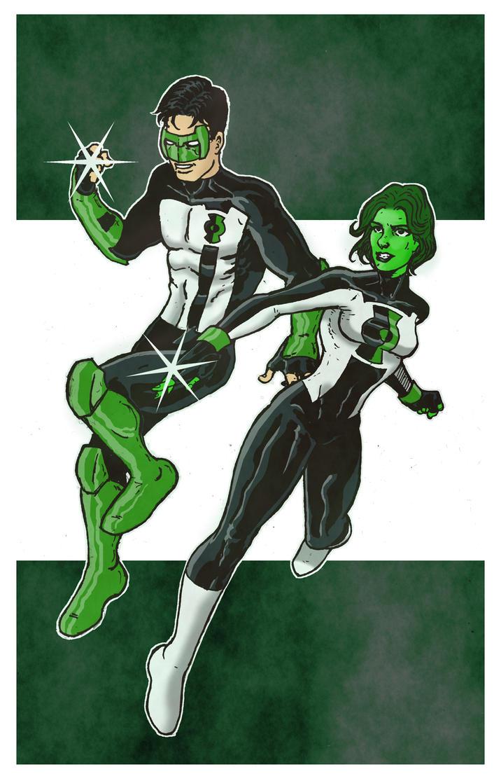 Green Lantern Thursday- 9 by RamonVillalobos