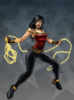Wonder Woman 2010 by RamonVillalobos