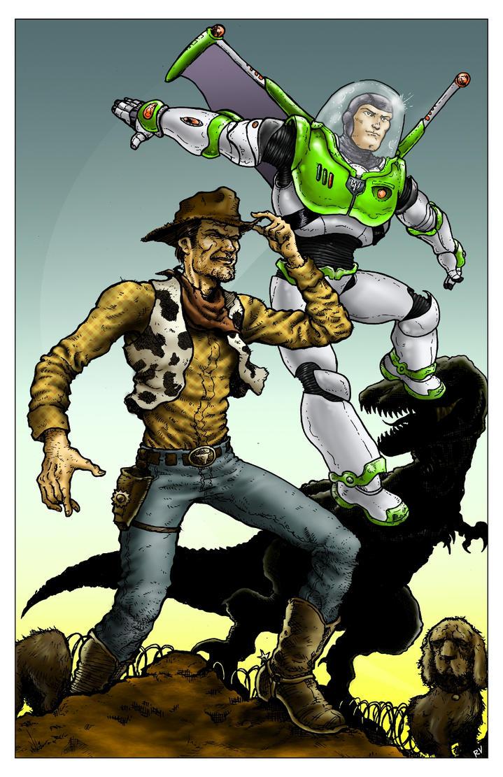 Toy Story by RamonVillalobos on DeviantArt