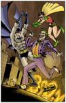 Batman Robin and Joker