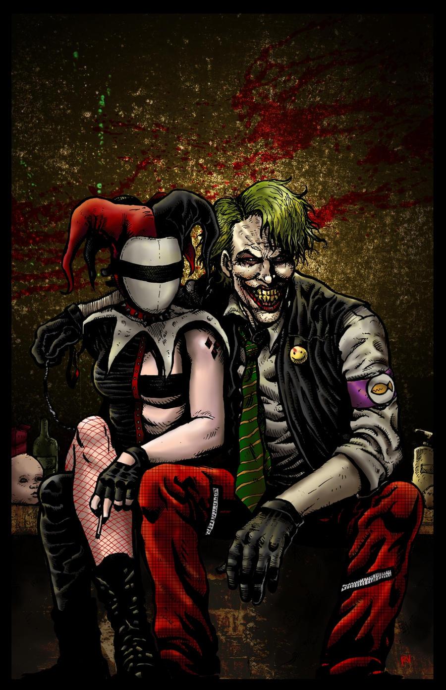 Joker and harley quinn taringa for Imagenes harley quinn