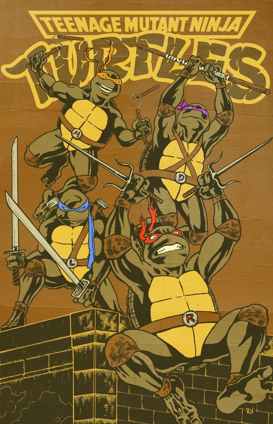 Turtle Power by RamonVillalobos