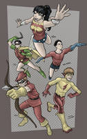 Teen Titans Jam by RamonVillalobos