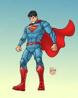 Superman DCnU by RamonVillalobos