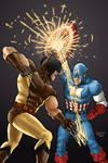 Wolverine vs Captain America