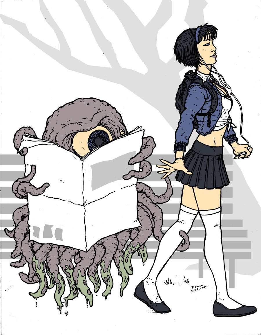 Tentacle Monster is intrigued by RamonVillalobos