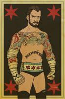 CM Punk by RamonVillalobos