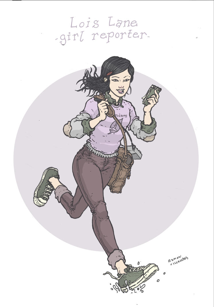 Lois Lane- Girl Reporter by RamonVillalobos