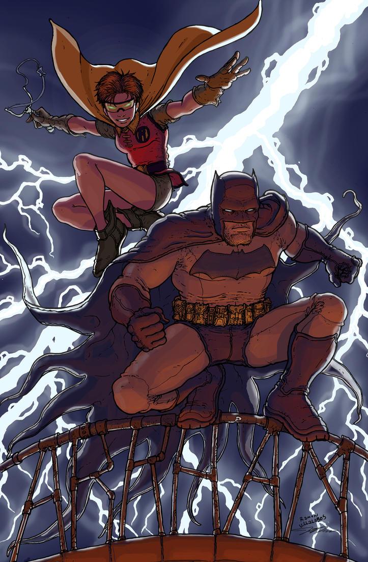 Dark Knight Returns by RamonVillalobos