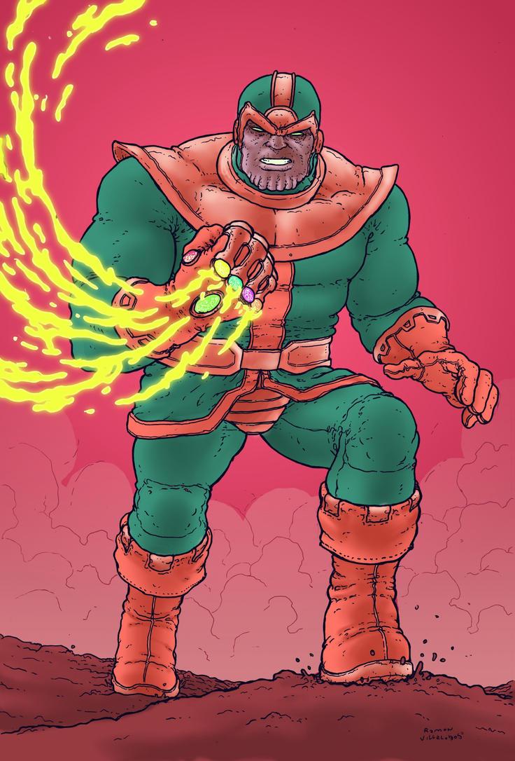 Thanos by RamonVillalobos