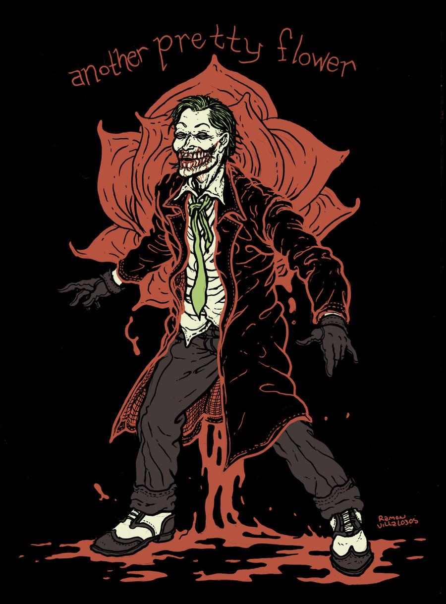 Rafael Grampa Joker by RamonVillalobos