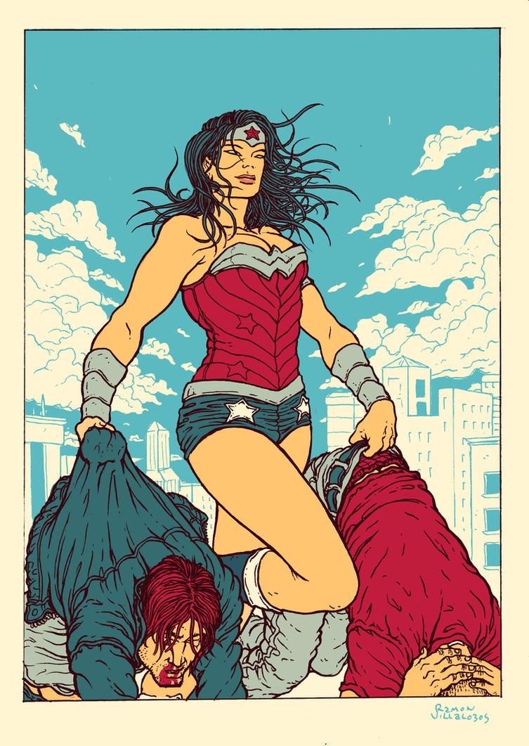 Wonder Woman by RamonVillalobos