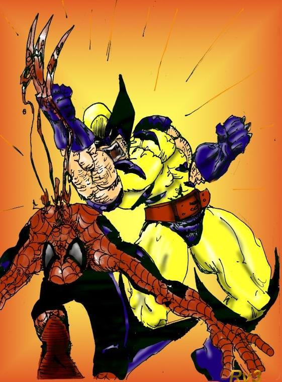 [Wolverine_VS_Spiderman_by_glantern133]