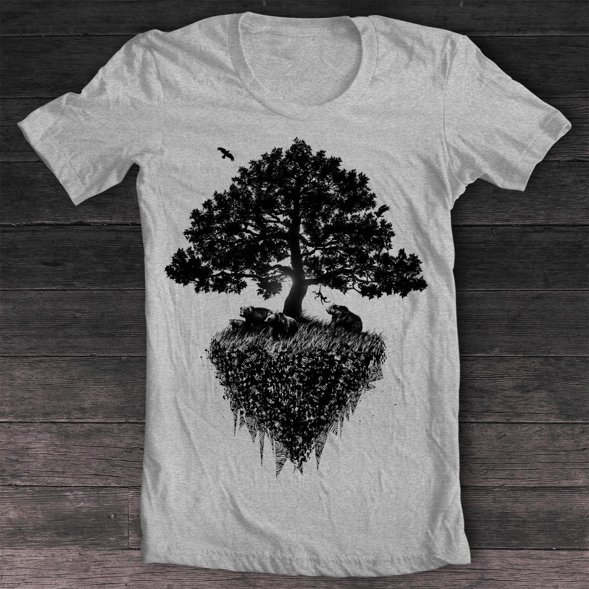Black Tree T Shirt By Pilife On Deviantart