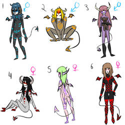 Demon adoptables Closed by eco226