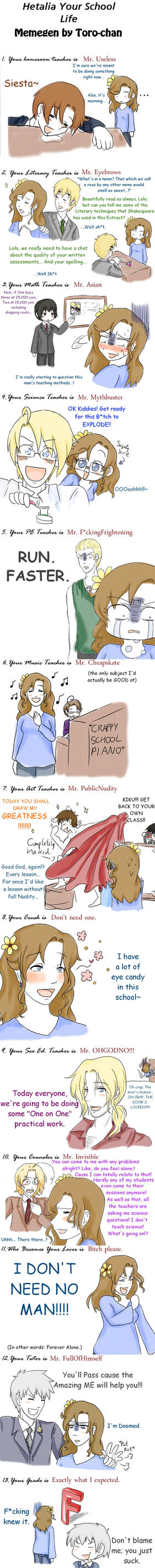 BEST. SCHOOL. EVER. by lolo-loco