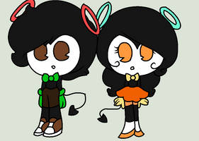 Fred and Marie (digital style)