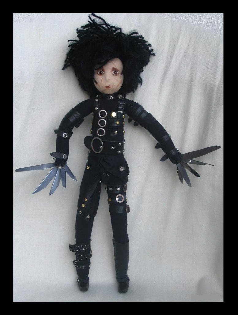 Edward Scissorhands by DarkDollArt