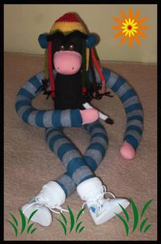 Rasta Monkey Sockie